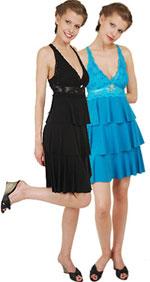 Коктейльные вечерние платья коллекции 2011.