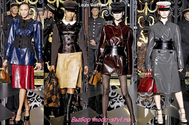 Модные кожаные женские куртки 2012.  Магазины верхней мужской.